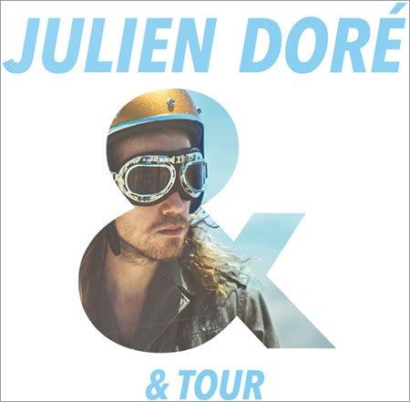 Julien Doré à l'AccorHotels Arena à Paris le 15 décembre 2017