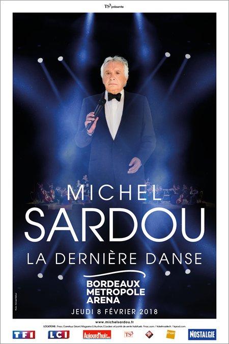 """Michel Sardou ajoute de nouvelles dates à la tournée """"La dernière danse"""""""
