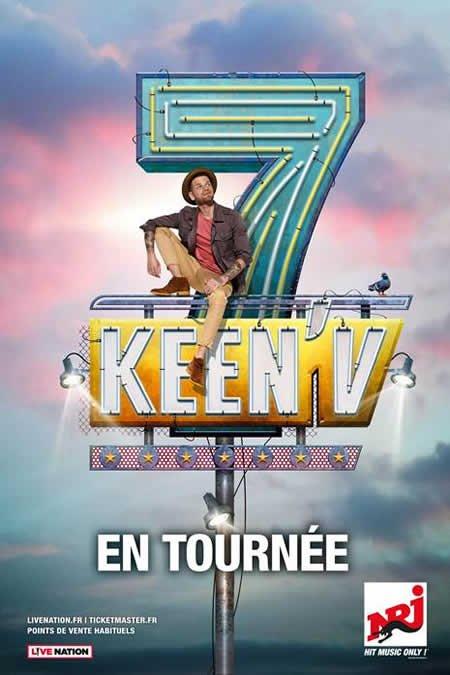 Keen'V : premières dates du 7 tour 2018