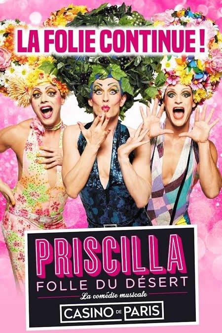 """""""Priscilla, Folle du Désert"""" de retour au Casino de Paris à la rentrée"""