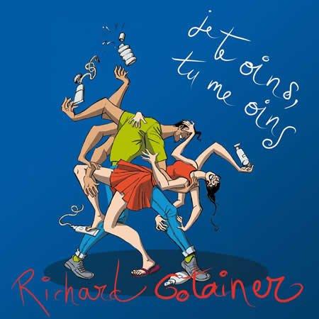 """Clip de """"Je te oins, tu me oins"""" le nouveau single de Richard Gotainer"""
