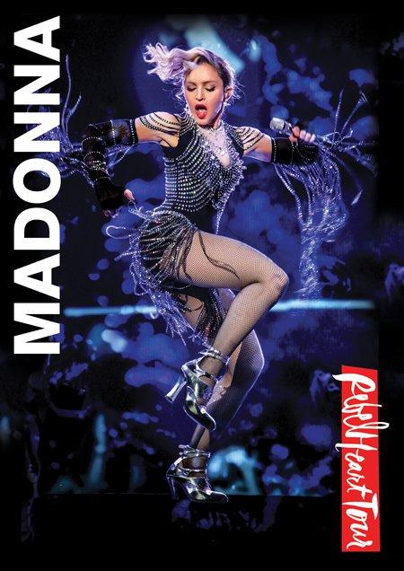 """Madonna : Sortie du """"Rebel Heart Tour"""" en 5 versions physiques et en digital"""