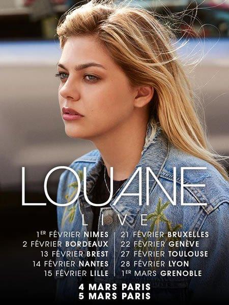 Louane annonce un pré-tour de 12 dates exceptionnelles
