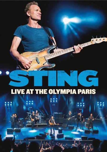 """Sortie le 10 novembre de """"Sting Live At The Olympia Paris"""""""