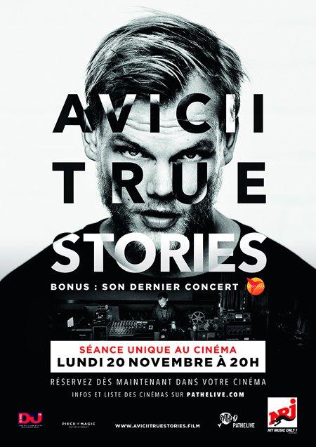 """""""Avicii True Stories"""" diffusé en exclusivité au cinéma le lundi 20 novembre"""