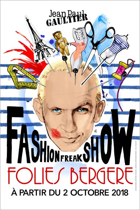 """Fashion Freak Show"", La revue spectacle de Jean Paul Gaultier"
