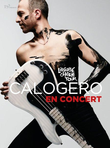 Calogero Liberté Chérie Tour : nouvelles dates