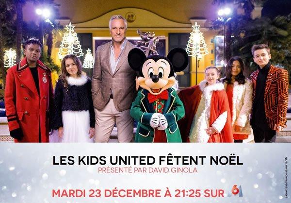 Les Kids United fêtent Noël samedi 23 décembre sur M6