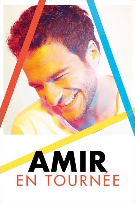 Amir annonce la prolongation de sa tournée en 2019