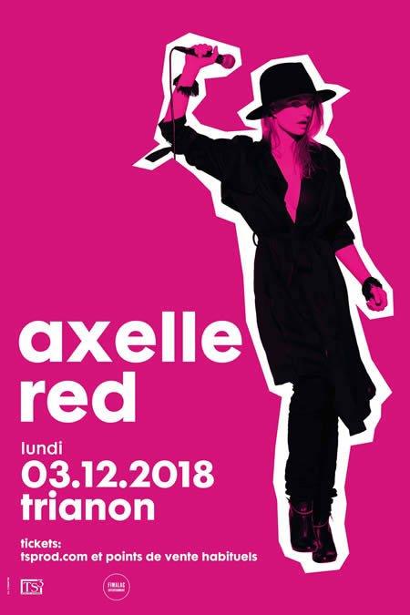 Axelle Red en concert au Trianon à Paris le 3 décembre 2018