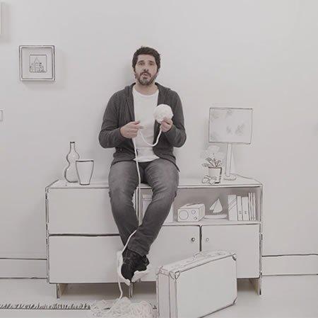 """Clip du nouveau single de Patrick Fiori, """"Les gens qu'on aime"""""""