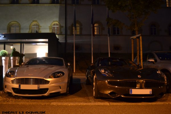 Aston Martin DBS & Fisker Karma