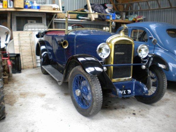AMILCAR Type G de 1927