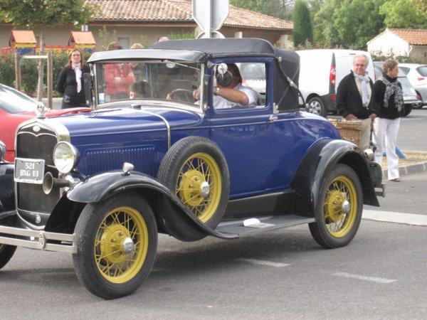 FORD type A 1930 coupé docteur