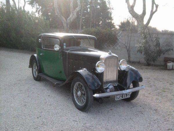 SALMSON S4 C FAUX CABRIOLET DE 1932