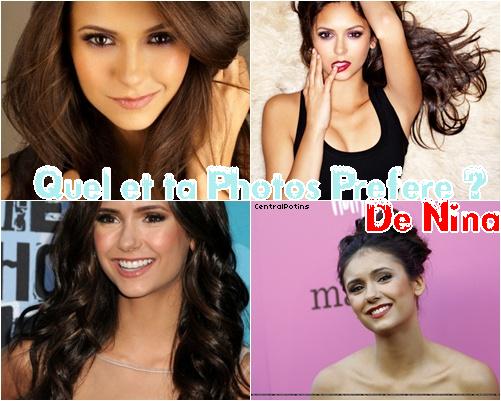 Quel & ta  photos Preféré de Nina ! ?