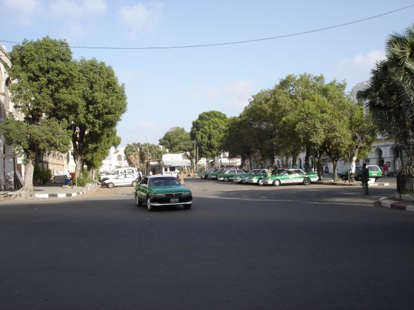 En escale à : Djibouti