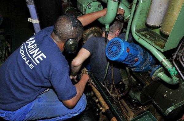 Spécialité : Mécanicien Naval - MECAN