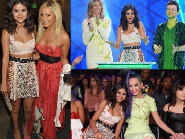 Selena Gomez aux Kids Choice Awards 2012 Top/Flop ?