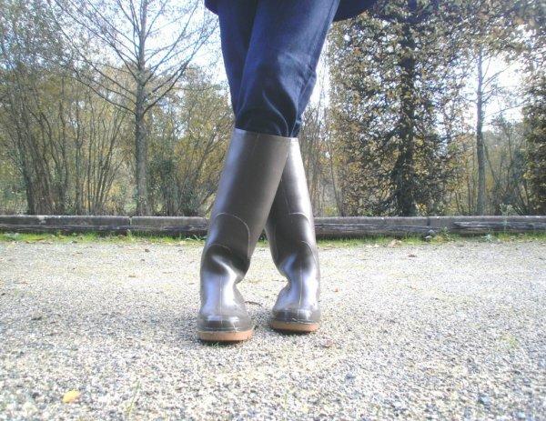promenade en bottes