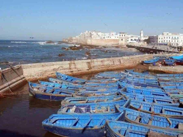 La jetée d'Essaouira, alias Astapor, dans la série :