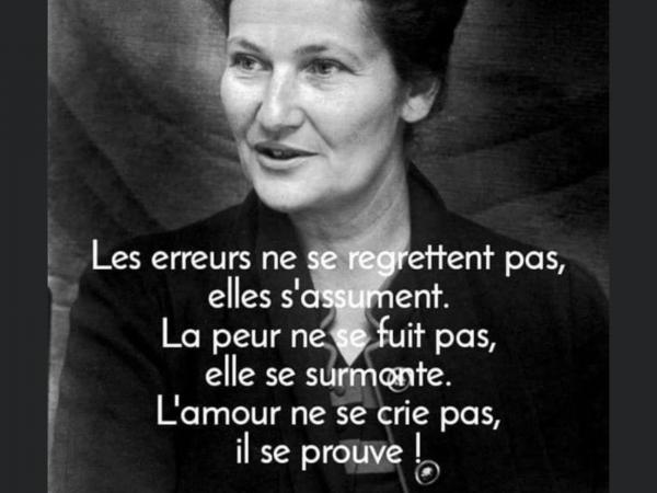 C était une grande Dame……Simone Weil …..