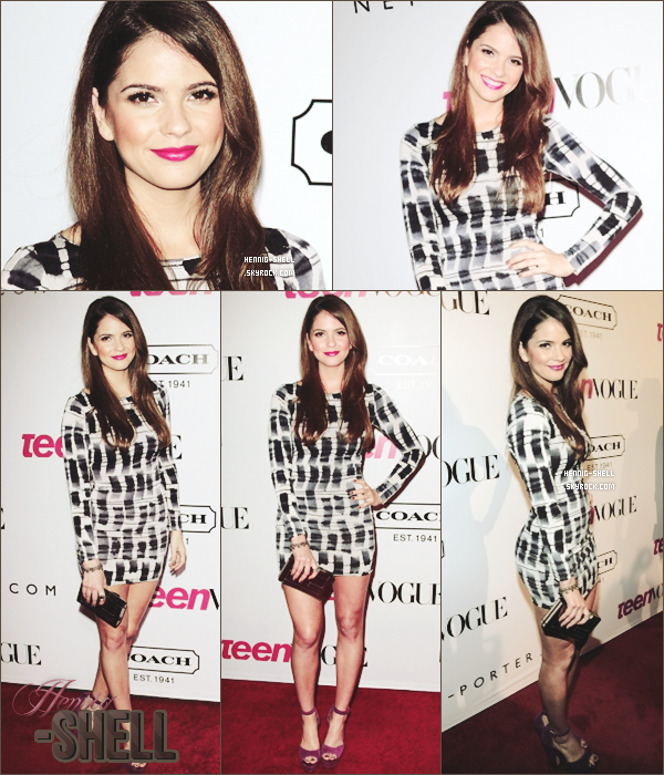 23.09.11: Shelley s'est rendue au 9th Annual Young Hollywood Party à Los Angeles !