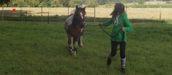 Une cavalière Plus un poney en crise d'ado , c'est pas Jojo !