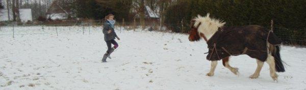 Première neige de l'année 2013 :D