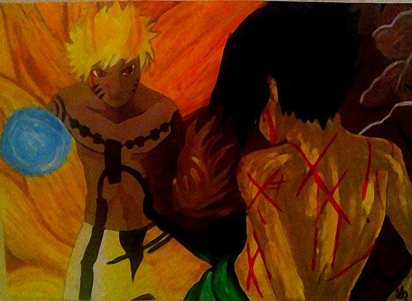 • Naruto et Sasuke - Naruto •