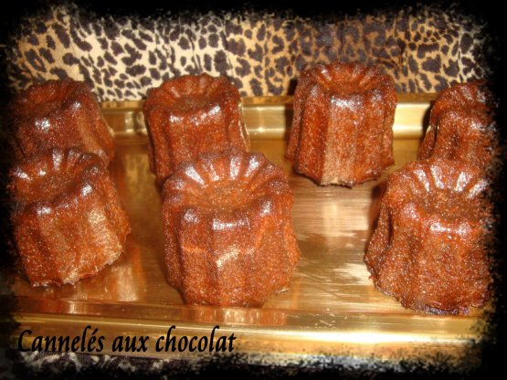 Petits cannelés choco
