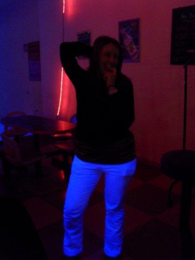 le bowling et mon pantalon blanc !!!