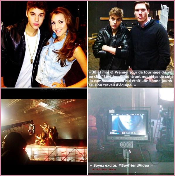 TEASER - Justin a posté le premier teaser du vidéo clip de« Boyfriend »sur son compte twitter !