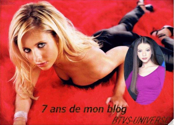 7 ans que mon blog existe