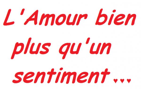 """L'Amour avec un grand """"A"""" on le reconnait ♥"""