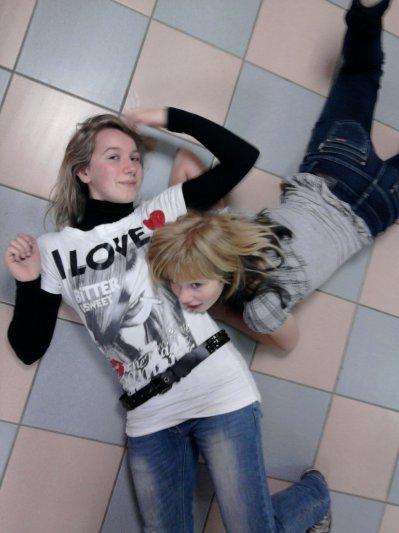 Elle et moi ♥ ..