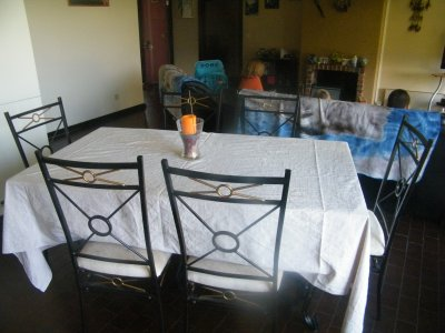 ma cuisine et mon salon