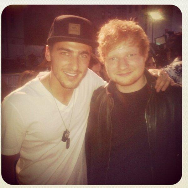 Kendall et Ed Sheeran