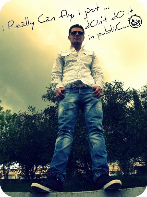 I really can Fly =P