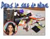 Nina a dévoilée ce qu'elle avait dans son sac (so cute ^^)  , + elle a répondue à une interview