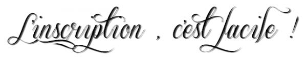Inscription.