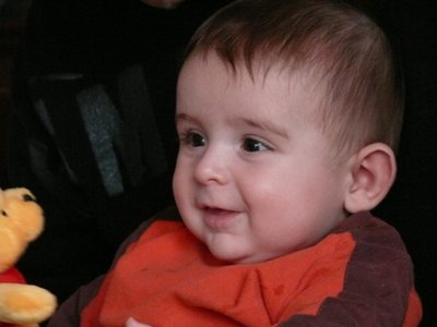 Jacob a bientot 5 mois!