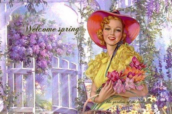 *: ♫  ☼  ♫  Le  printemps  est   arrivé •   •   •  ♫  ☼  ♫