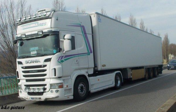 transport bres , france