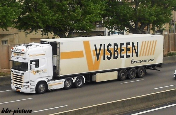 visbeen transport  , hollande