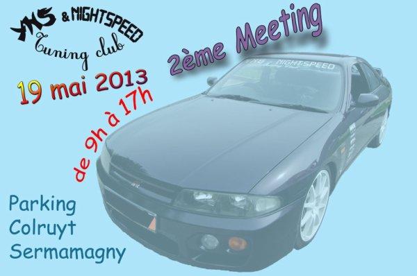 2 eme meeting  YNS & Nightspeed tuning club