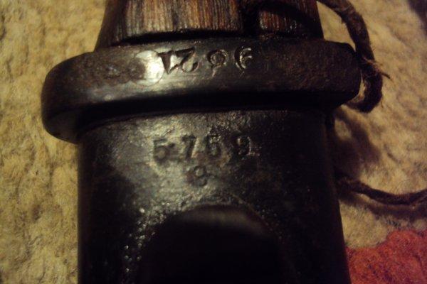 baionnette mauser 98k