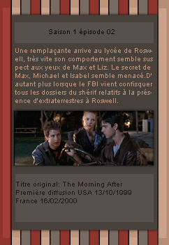 # DeliciousRoswell ___________ Article Episode 1x01 & 02 -------------------- Création / Décoration / inspiration