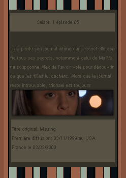 # DeliciousRoswell ___________ Article Episode 1x05 -------------------- Création / Décoration / inspiration