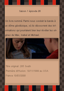 # DeliciousRoswell ___________ Article Episode 1x06 -------------------- Création / Décoration / inspiration